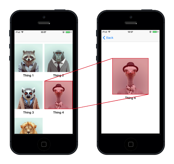 iOS7 interactive transitions